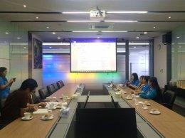 เข้าตรวจเยี่ยมบริษัท เดลต้า อิเลคโทรนิคส์ (ประเทศไทย) จำกัด (มหาชน)