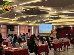 การประชุมชี้แจงโครงการพัฒนาสถานประกอบการสร้างเสริมสุขภาพ