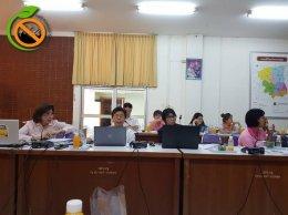 ประชุมคณะอนุกรรมการดำเนินงานสถานประกอบการปลอดบุหรี่ จังหวัดนครปฐม