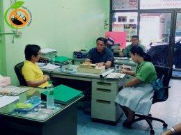 พบปะพูดคุยกับสภาองค์การลูกจ้างพัฒนาแรงงานแห่งประเทศไทย
