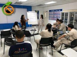 การบรรยายและจัดทำแผนปฏิบัติการสถานประกอบการปลอดบุหรี่ บริษัท ออโต้อัลลายแอนซ์ (ประเทศไทย) จำกัด