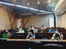 """ส.พ.ส.ร่วมกับ พี่เลี้ยงส่งเสริมสุขภาพ จ.ราชบุรี จัดประชุม """"พบปะ พูดคุยแลกเปลี่ยนผลการดำเนินงานการพัฒนาสถานประกอบการปลอดบุหรี่"""""""