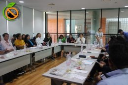 ประชุมชี้แจงโครงการฯ ร่วมกับเครือข่ายและแกนนำสร้างเสริมสุขภาพในสถานประกอบการ