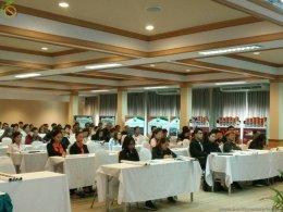 ประชุมการป้องกันและควบคุมพฤติกรรมเสี่ยงทางสุขภาพในสถานประกอบการ ในจังหวัดนครราชสีมา