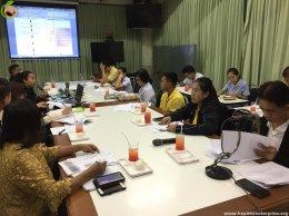 เจ้าหน้าที่สมาคมฯเข้าร่วมประชุมคณะอนุกรรมการดำเนินงานสถานประกอบการปลอดบุหรี่
