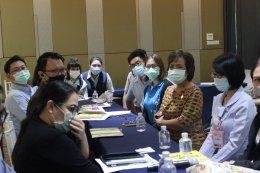 """ส.พ.ส จัดประชุมชี้แจง""""การประเมินเพื่อรับโล่/เกียรติบัตรสถานประกอบการสร้างเสริมสุขภาพ"""" (โซนภาคตะวันออก)"""