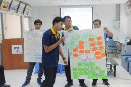 สมาคมพัฒนาคุณภาพสิ่งแวดล้อมเข้าทำการสนับสนุนเชิงกระบวนการให้แก่คณะทำงานให้กับ บริษัท คูซุ่นเฮงหลีเท็กไทล์ จำกัด