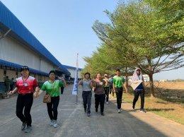 """ทีมงานโครงการสถานประกอบการสุขภาพดีมีสุขร่วมกิจกรรม """"OTANI Sports Game 2019"""""""