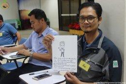 สมาคมพัฒนาคุณภาพสิ่งแวดล้อมจัดกิจกรรมสัญจรที่บริษัท อินโดรามา โพลีเอสเตอร์ อินดัสตรี้ส์ จำกัด (มหาชน)