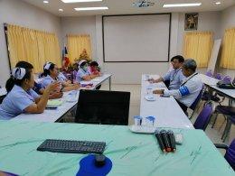 พี่เลี้ยงส่งเสริมสุขภาพ (health mentor) อ.แปลงยาวให้คำปรึกษาเกี่ยวกับการส่งเสริมสุขภาพกับ บริษัทโตโยต้า มอเตอร์ ประเทศไทย จำกัด (เกตเวย์)