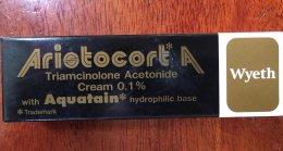 ARISTOCORT A CREAM TRIAMCINOLONE ACETONIDE CREAM 0.1%