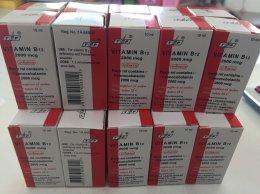 Vitamin B12 Injection 2000mcg 10ml Vial