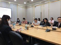 การประชุมคณะกรรมการดำเนินงานสถาบันวิจัยและพัฒนา ครั้งที่ 6(51)/2563 ประจำเดือนตุลาคม 2563
