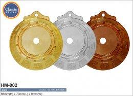 เหรียญรางวัลโลหะผสม HM-002