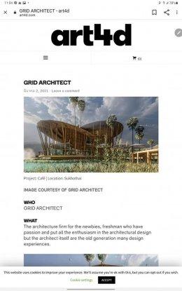 ขอบคุณ Art4Dที่ให้ความสนใจผลงานบ.เรา Thank you Art4D for being interest in our company's projects.