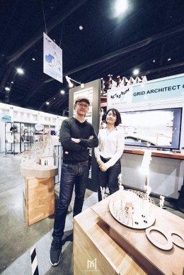 พบกับบูทเราบริษัทกริด อาร์คิเทคท์จำกัด Meet our booth, Grid Architect company.