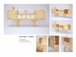 TREE TUNNEL tv cabinet