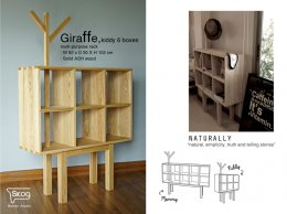 GIRAFFE KIDDY rack-6-BOX