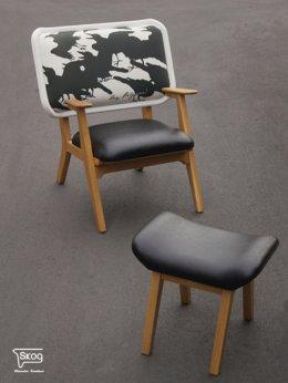 MASTERMIND & OTTOMAN armchair