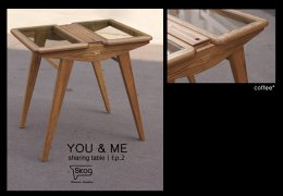 YOU & ME-glass top