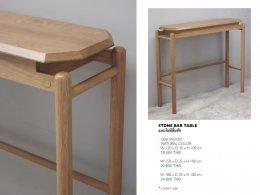 STONE BAR TABLE 120 cm