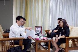 ต้อนรับผู้จัดการบริษัทริเออิ ประเทศไทย
