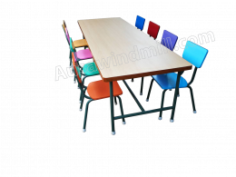 โต๊ะเก้าอี้นักเรียนหมู่
