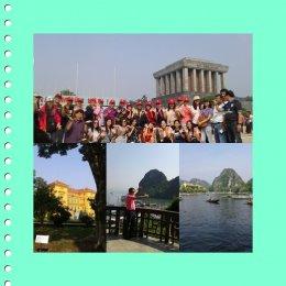 โปรแกรม 5 วัน  4 คืน กรุงเทพฯ - ฮานอย   - ฮาลอง   -  นินบิงส์ - กรุงเทพฯ