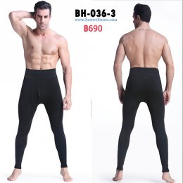 [พร้อมส่ง F]  [BH-036-3] ลองจอนซับขนกันหนาวชายสีดำ รุ่นนี้ผ้านุ่มมากใส่กันหนาวติดลบได้เลย แนะนำค่ะ
