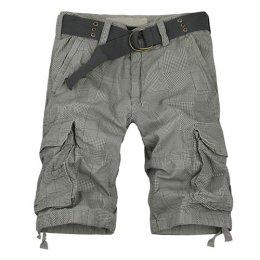 [[*พร้อมส่ง 38]] [Ma-003] Mr.Mian ++กางเกง++ กางเกงขาสั้นสีเท