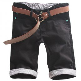 [[*พร้อมส่ง 31,32]] [Ma-014] Mr.Mian ++กางเกง++ กางเกงขาสั้นสีดำ