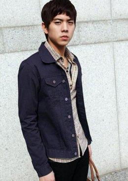[[พร้อมส่ง XL]] [Tp-051] Tp++เสื้อกันหนาว++เสื้อกันหนาวสีกรมท่า