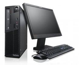 """ครบชุด Lenovo M73 Core i3-4130 @ 3.40GHz พร้อมจอ 17"""""""
