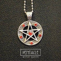 Pendant of Pentacle (red)