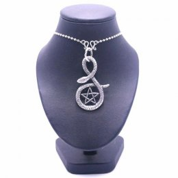 Pendant Pentacle with Stainless steel necklace