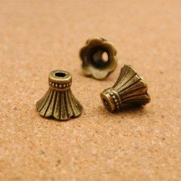 ตัวครอบพู่ หรือลูกปัด ขนาด 11 x 9 mm. (5 ตัว/set)