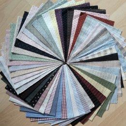 ผ้าทอจัดเซท 50 ชิ้น No.3 ขนาด 12.5 x 17.5 cm.