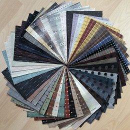 ผ้าทอจัดเซท 50 ชิ้น No.4 ขนาด 12.5 x 17.5 cm.