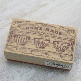 Stamp ลายชาม Home made ขนาด 4*7 cm.