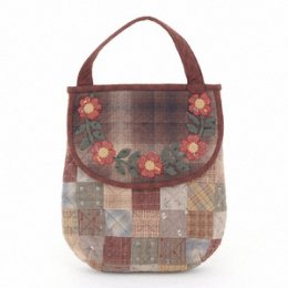ชุดอุปกรณ์พร้อมเย็บกระเป๋า By Reiko Kato ขนาดสำเร็จ 27.5*22 cm.