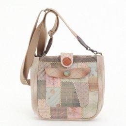 ชุดอุปกรณ์พร้อมเย็บกระเป๋า By Reiko Kato ขนาดสำเร็จ 17*17*6.5 cm.