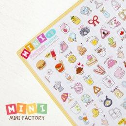 Mini Paper Sticker ชุด Travel ขนาด 12*16 cm.