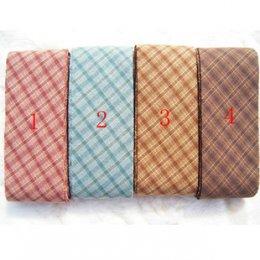 ผ้ากุ๊นสำเร็จรูป (ผ้า Country) หน้ากว้าง 3.5 cm. หลาละ