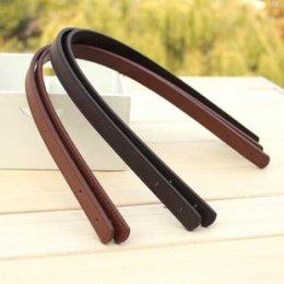 สายกระเป๋า พร้อมหมุดย้ำ กว้าง 1.8 cm.ยาว 55 cm. ราคาคู่ละ เหลือสีน้ำตาลอ่อน