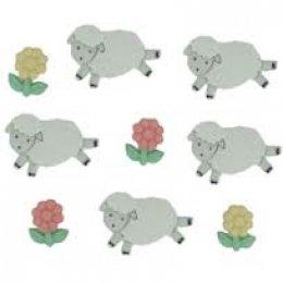 กระดุมชุด Counting Sheep ของ Dress It Up ราคา/แพ็ค