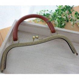 ปากกระเป๋าป๊อกแป๊ก มีหูหิ้ว ขนาด 26 cm.