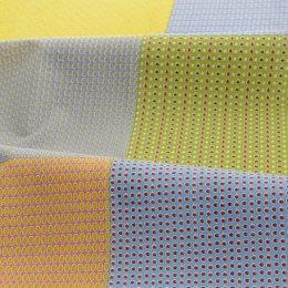 ผ้า cotton linen ลายผลไม้ 1 บล็อคจะมี 6 ลาย ขนาด 80 x 140 cm.(ผ้าจีนนะคะ)