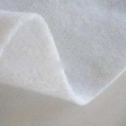 แผ่นใยสังเคราะห์อัดแผ่น ชนิดใยสปริง ขนาด 1/4 หลา 200 g. หนา 3 mm. (45 x 45 ซม.)