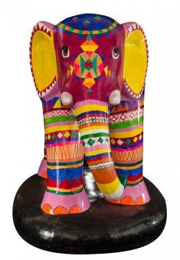 """28. """"Yama - Elephant  (Yama means elephant in Akha)"""""""