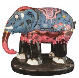 14. Striped Elephant